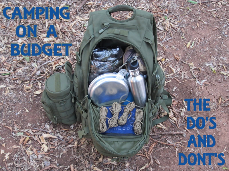 C&ing On A Budget & Camping Gear On A Budget: The Dou0027s and Donu0027ts | Master Woodsman