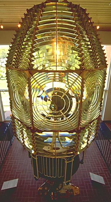 Fresnel Lens in Lighthouse