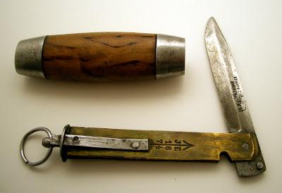 Edward Zinn 7cm Barrel Knife