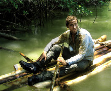 Faking it? Bear Grylls in Born Survivor
