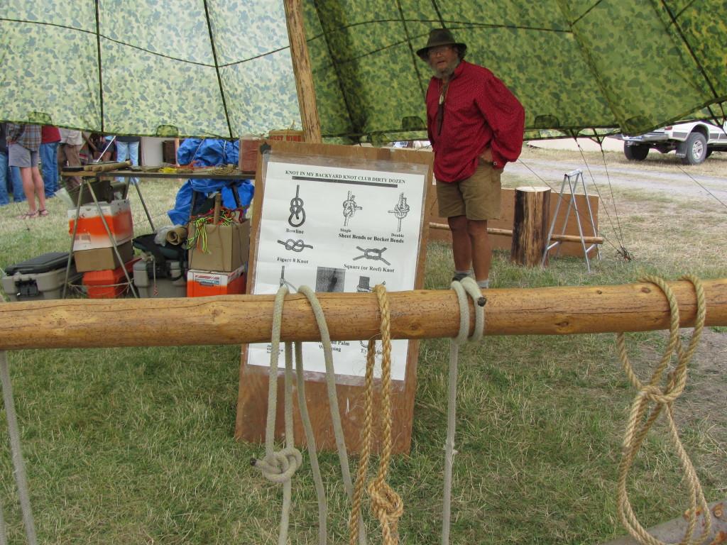 Rabbit Stick is knot your average primitive skills gathering!
