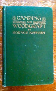 My 1916 copy of Camping and Woodcraft (Volume One - Camping)