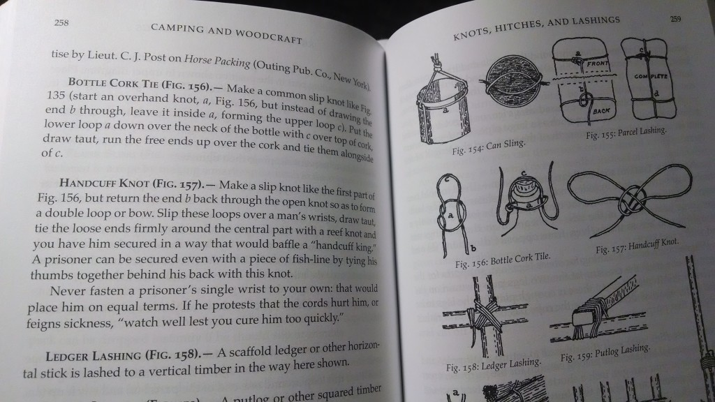Note the new typeset and quality line drawings from the new version in the example photo.