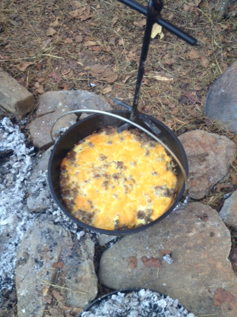 How about some Mountain Man breakfast the next morning?