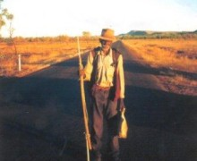 Jack Jugarie from The Human Race (Photo: Halls Creek Tourism, link in article)