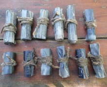 Firebombs ready for use.