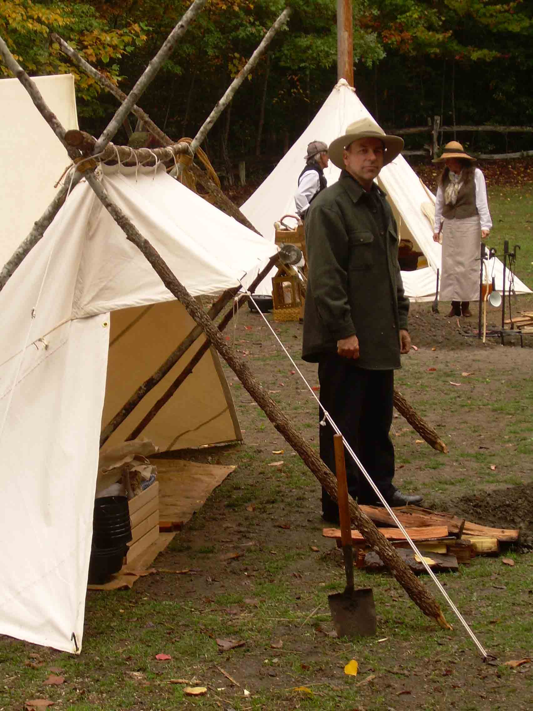 Lean Too Tent : Origins of the whelen lean to by thomas ray master woodsman