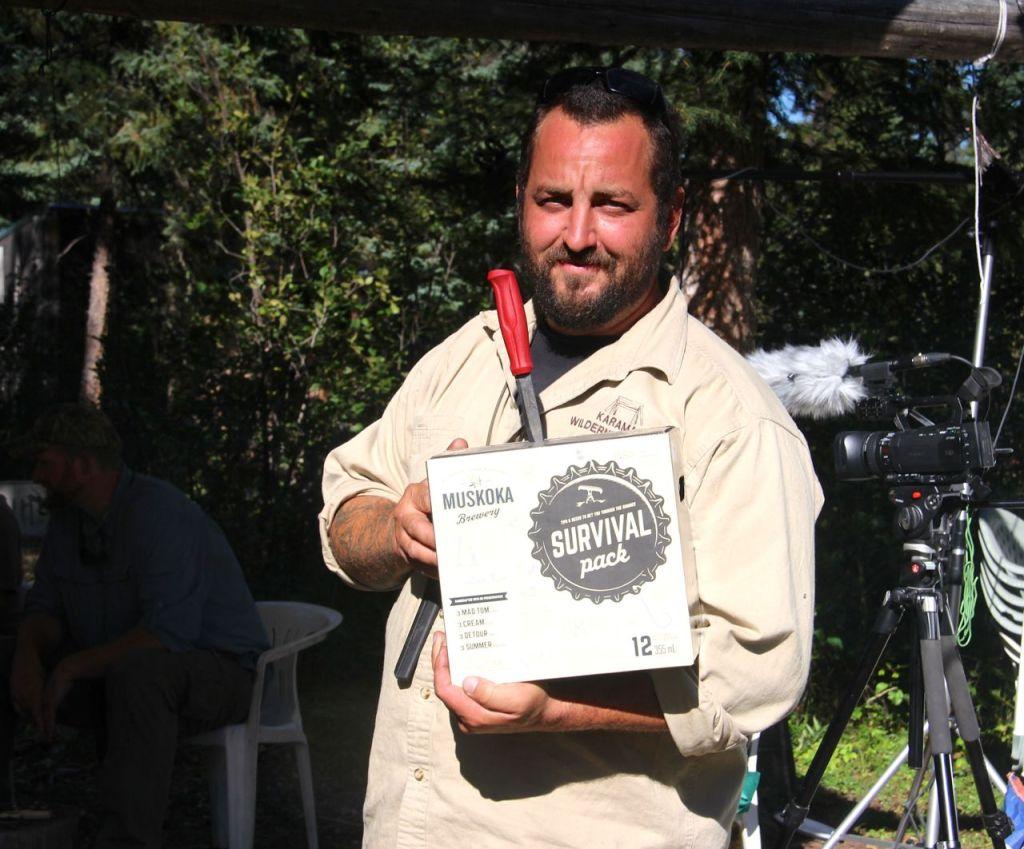 Fellow Master Woodsman Gear Tester and Karamat Instructor Dragan Uzelac.