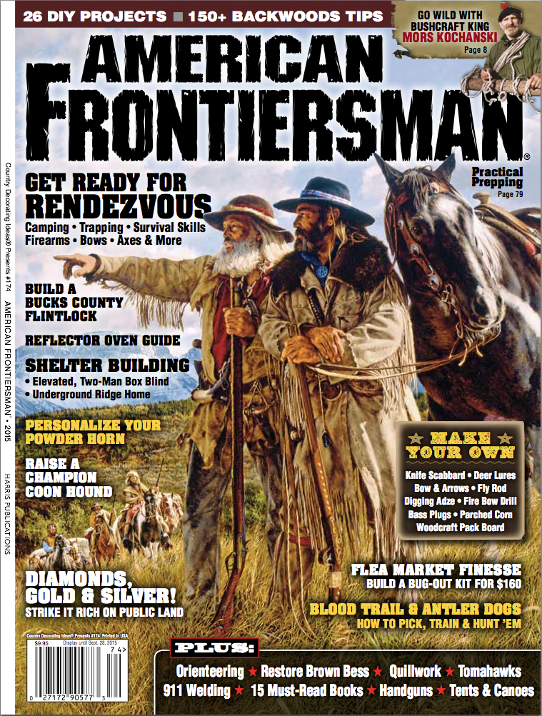 For more information on American Frontiersman and to purchase single copies of past issues, please visit realworldsurvivor.com.