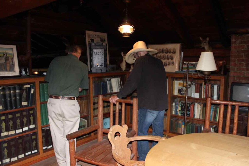 Going through some of the many archives at the Camp-Fire Club of America. (Thank you Jeff!)