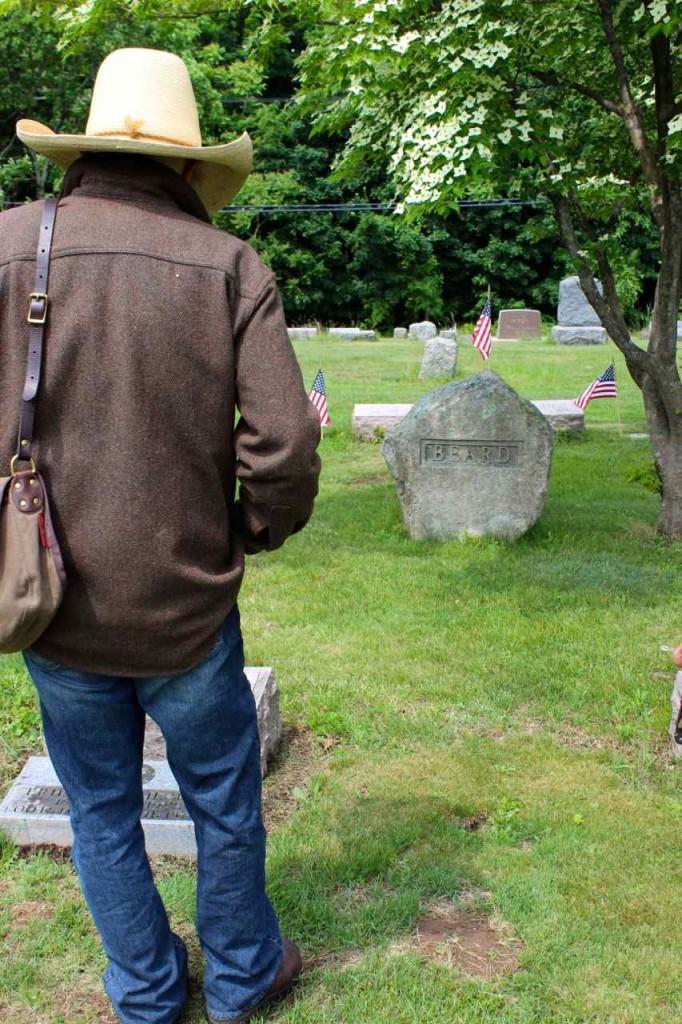 Daniel Carter Bear grave in Spring Valley, NY.