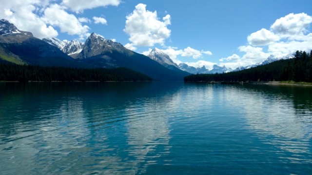 Maligne Lake lower